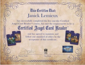 Angel Card certified