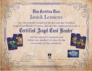 Angel Card certified