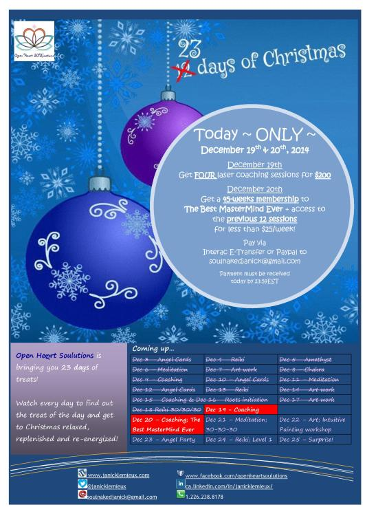 23 days of christmas poster Dec 19 and 20-page-001